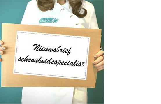 Aanmelden nieuwsbrief 'Schoonheidsspecialist'