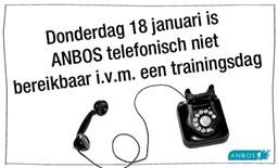 Telefonische bereikbaarheid 18-01