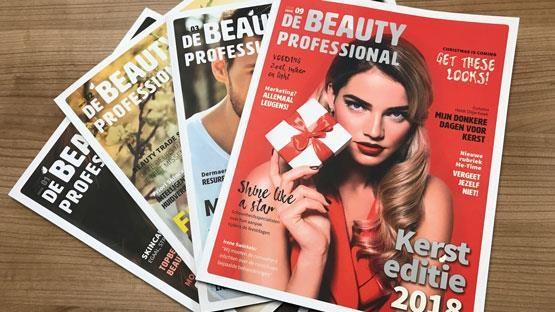 Vanaf 1 januari 2019 ontvangen ANBOS leden maandelijks De Beauty Professional