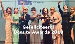 Winnaars Beauty Awards 2019 bekend