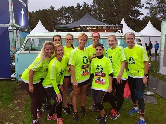 Met het ANBOS-team hardlopen om aandacht te vragen voor kanker? 2