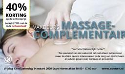 Vakbeurs Massage- Complementairvakbeurs