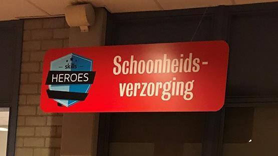 ANBOS was aanwezig tijdens de vakwedstrijden van Skills Heroes 1